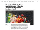 site Fundação Iberê | agosto 2020