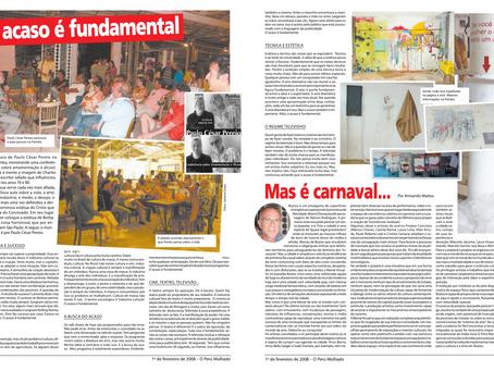 Jornal O Perú Molhado  | Fevereiro de 2008
