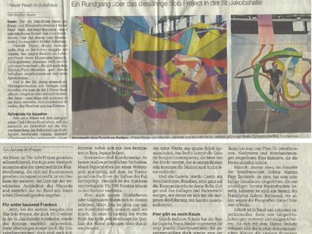 Basler Zeitung - CH | Jun 2014