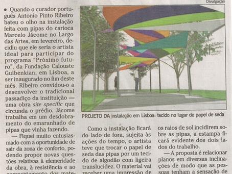 Jornal O Globo, segundo caderno   junho 2012