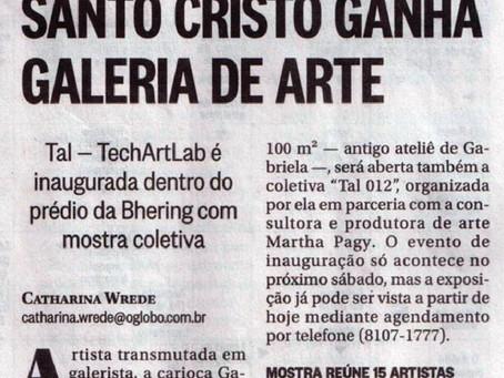 Jornal O Globo   Janeiro de 2013