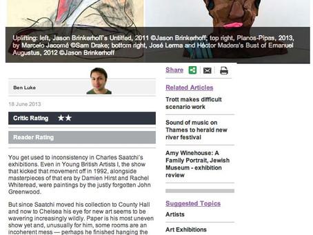 London Evening Standard - UK   June 2013