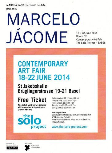 Convite Solo Project Art Basel