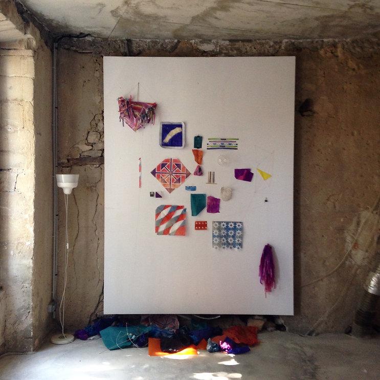 Arte Contemporânea. Obra de arte do artista Marcelo Jácome, Residência artística Echangeur 22