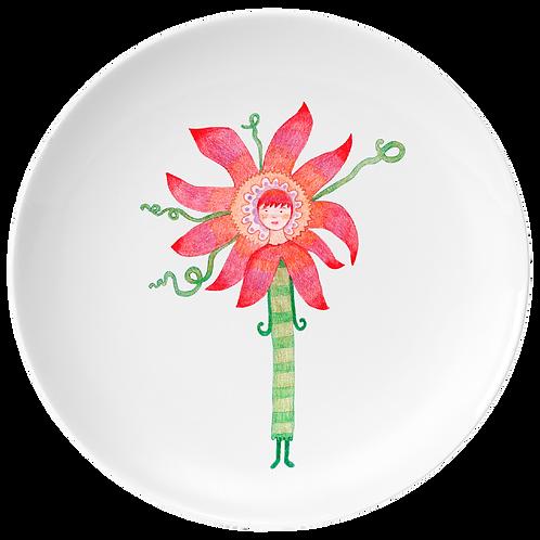 Flor de la pasión postre