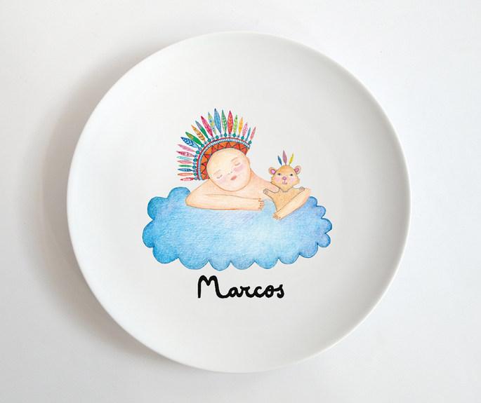 Plato para Marcos