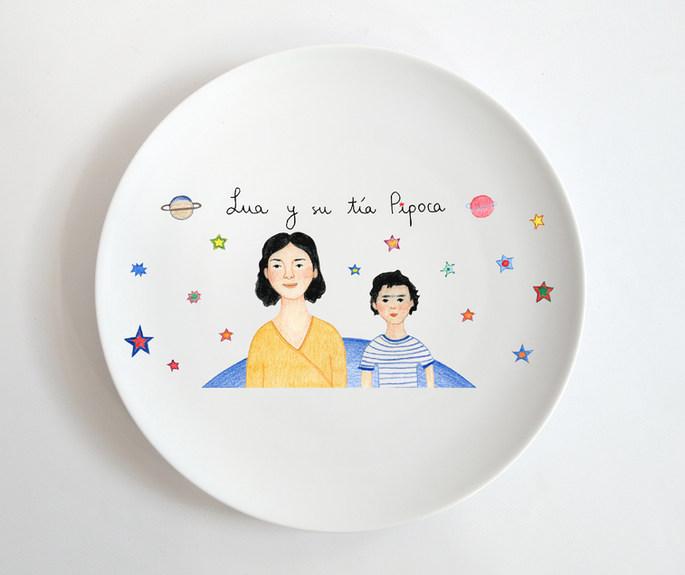 Lua y su tía Pipoca