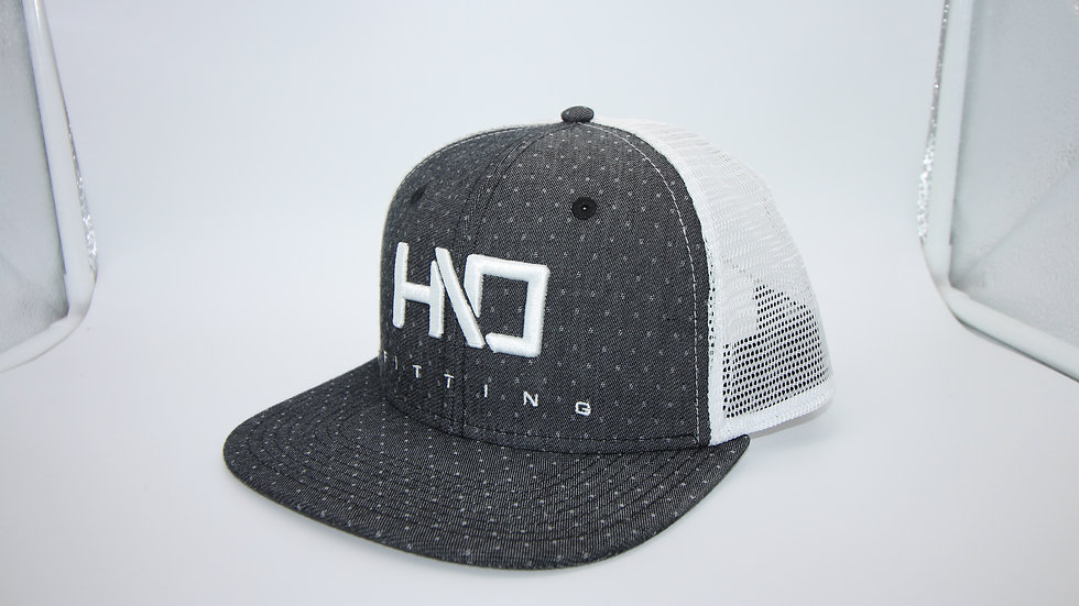 HIO Mesh Cap Grey/White