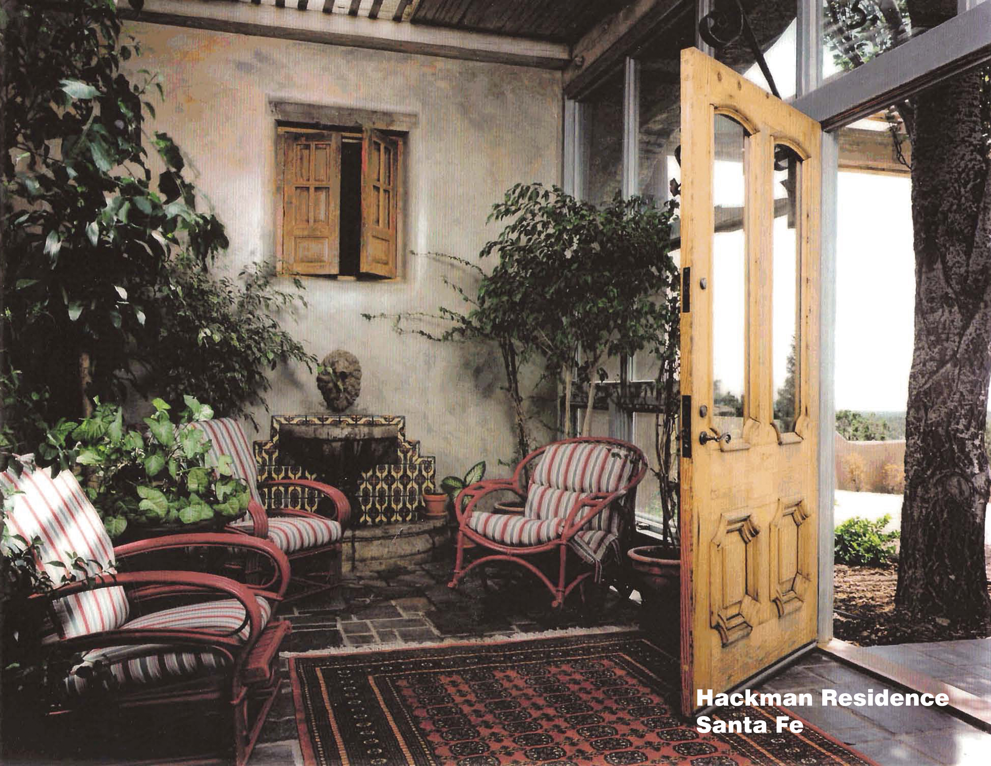 Hackman Residence - Entry Hall