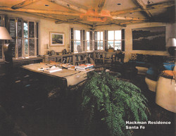 Hackman Residence - Library