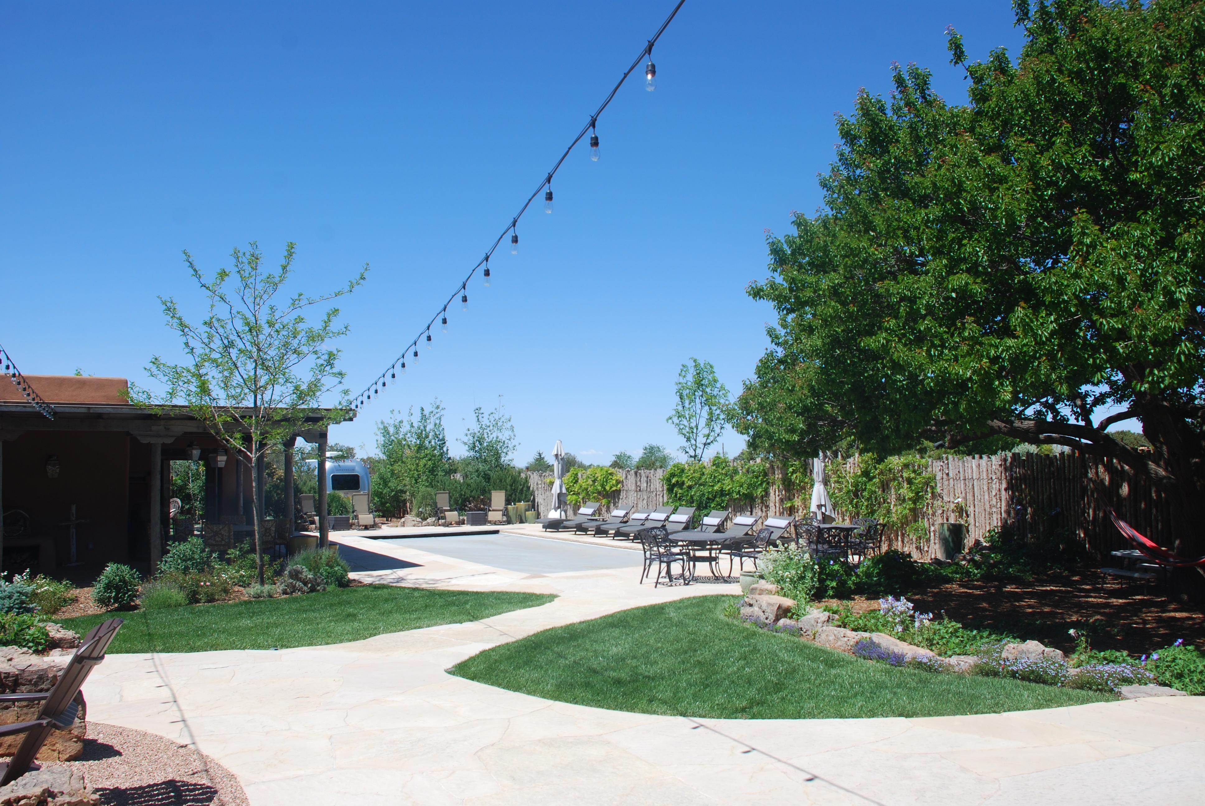 Historic Remodel - New swimming pool