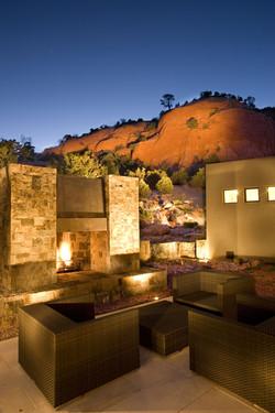 Ross - Outdoor Fireplace