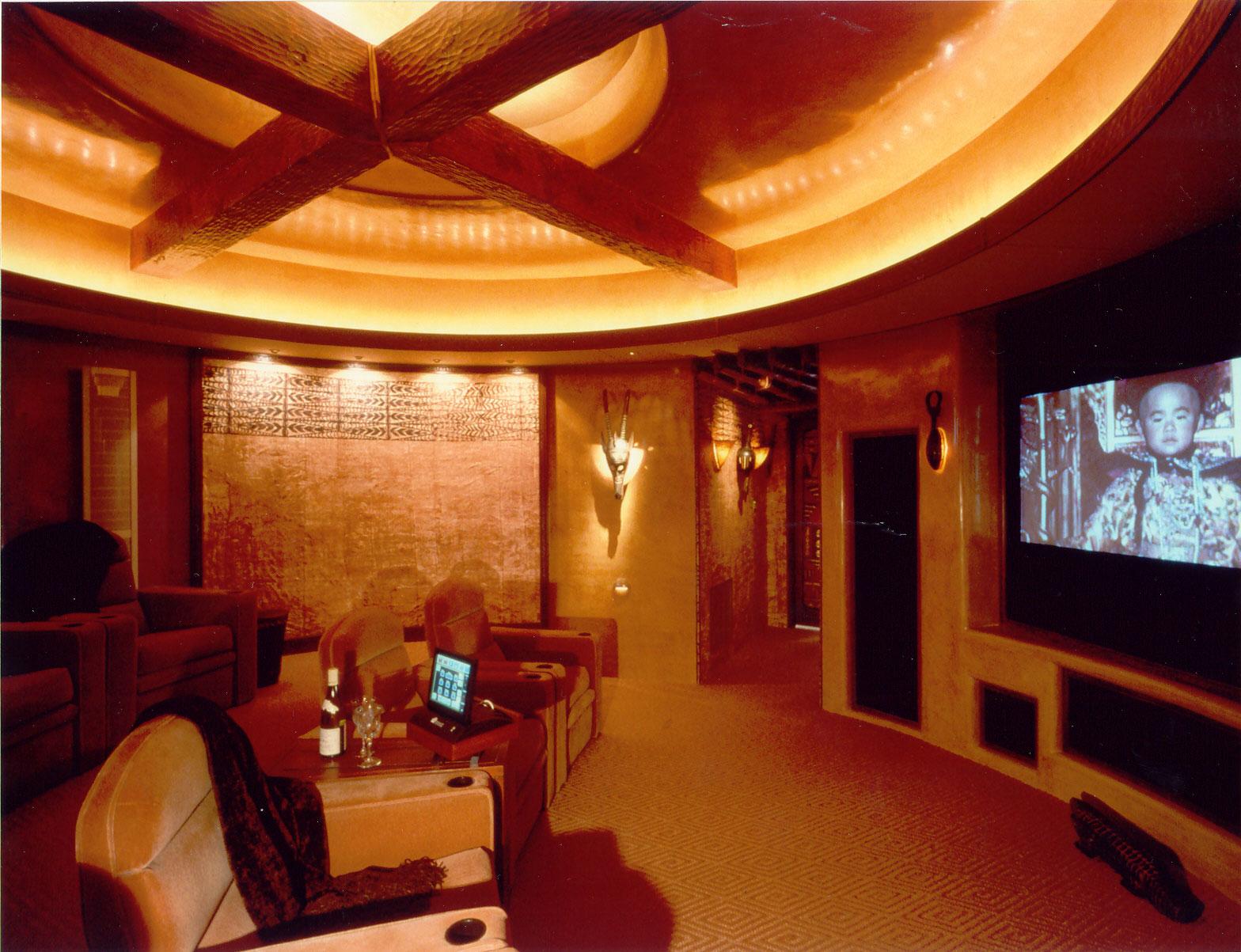 Gougis Residence - Media Room