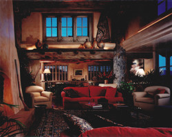 Hackman Residence - Living Room