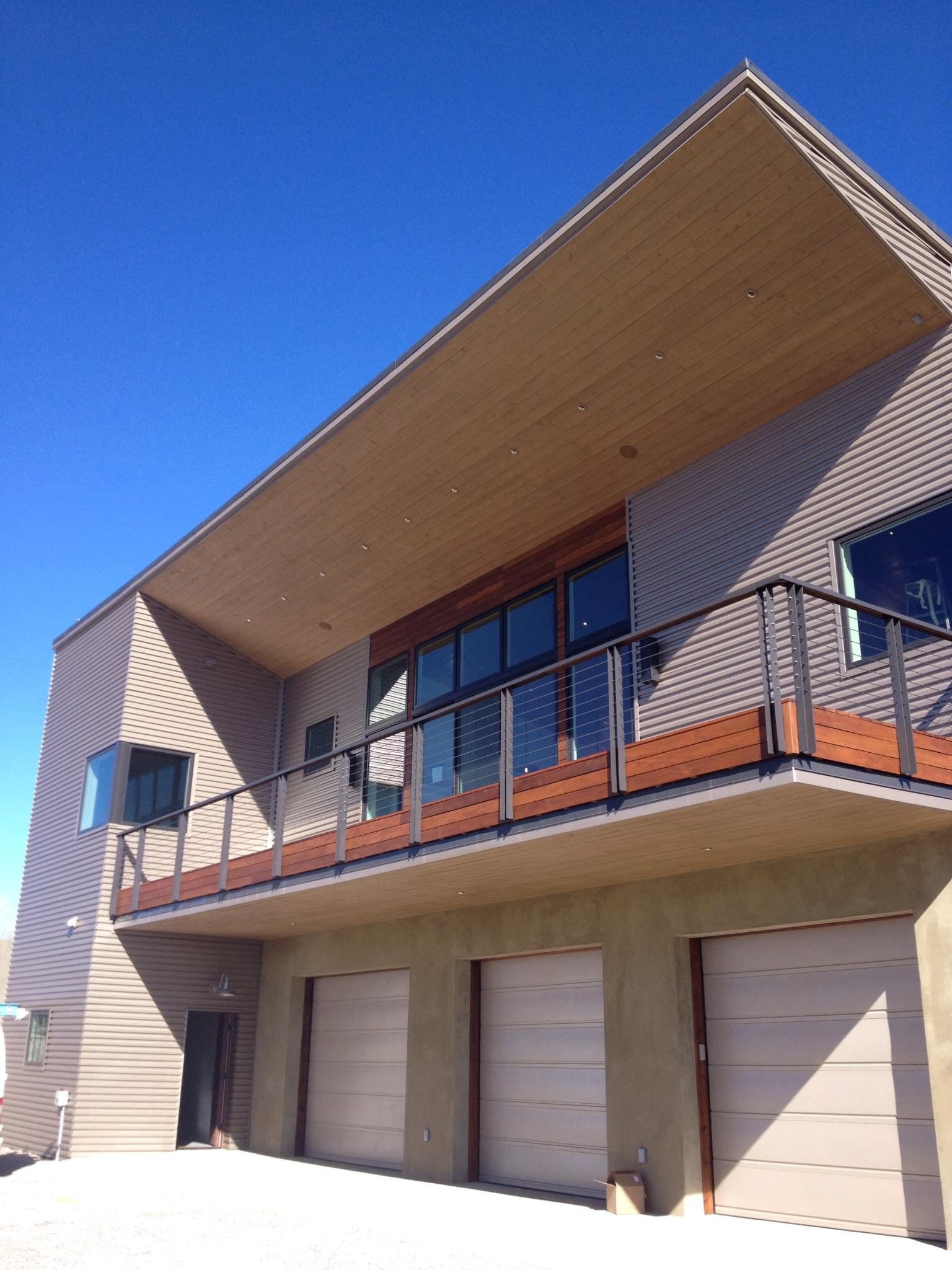 Chama Ranch - Balcony