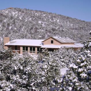 Passive Solar Foothills House - Santa Fe,New Mexico