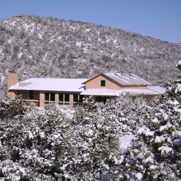 Passive Solar Foothills House - Santa Fe,New Mexico