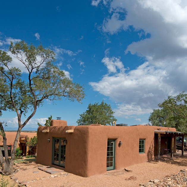 Historic Santa Fe Adobe Renovation