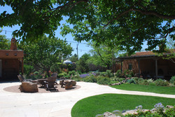Casita and central Firepit