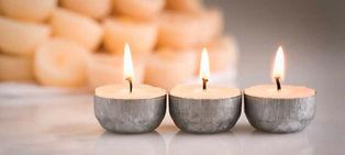 Rustgevende kaarsen