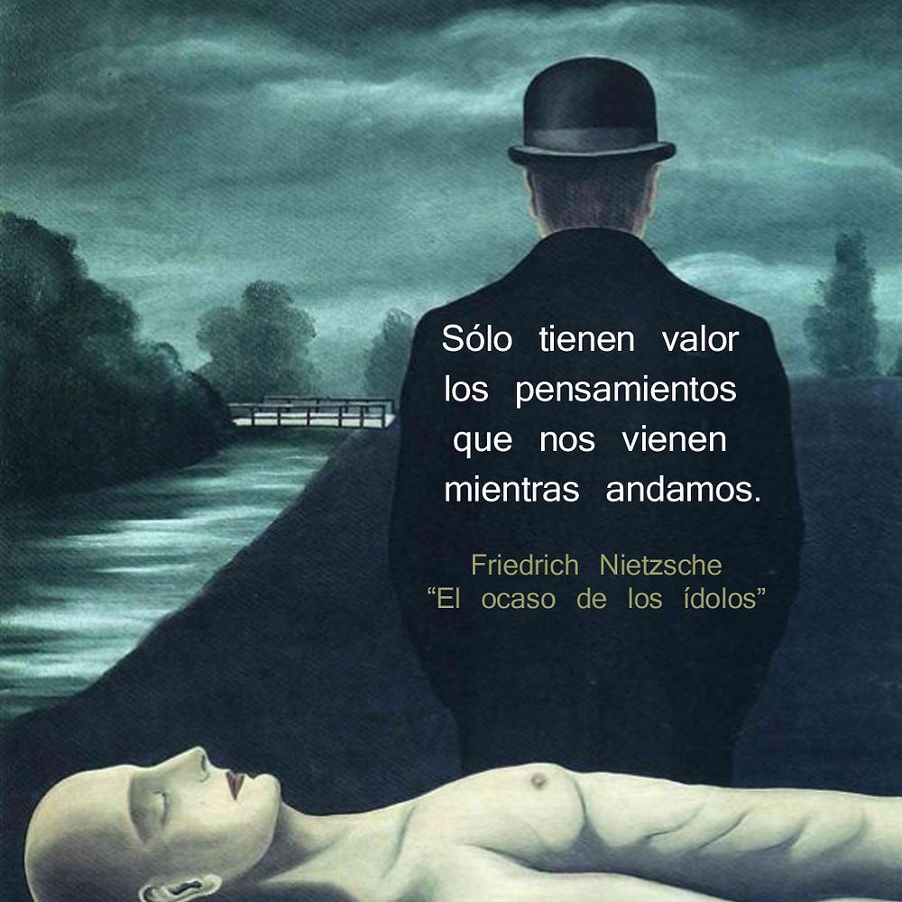 René Magritte Rousseau Nietzsche