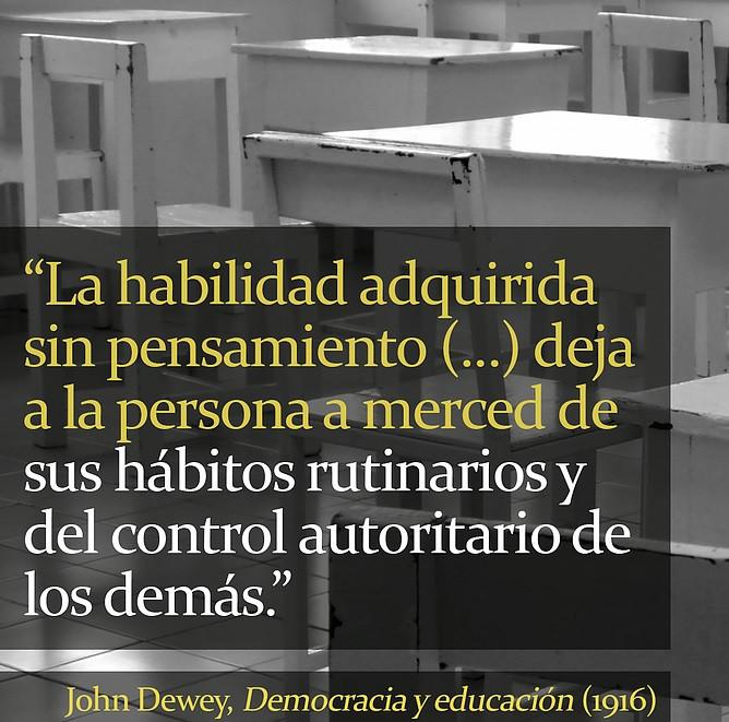 John Dewey Democracia y Educación