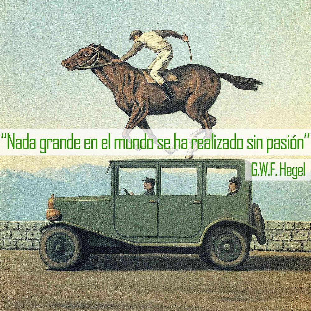 Magritte La colére Hegel