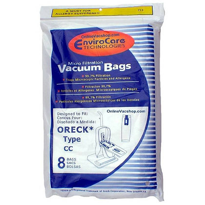 Oreck Bags Style CC (8 Pack)