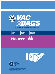 Hoover Bags Style M (3 Pack)