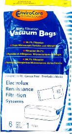 Electrolux Bags Style R (6 Pack W/ 1 Filter)