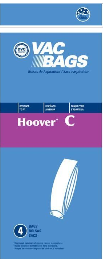 Hoover Bags Style C (4 Pack)