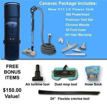 Canavac LS700 Complete System