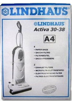 Lindhaus Bags Style A4 (8 Bags 2 filter)