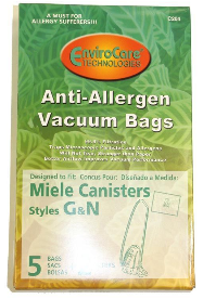 Miele Bags Style G/N (Non-Genuine) (5 Pack)
