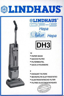 Lindhaus Bags Stlye DH3 (10 Bags 2 Filters )