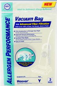 Hoover Bags Style Y Hepa (3 Pack)
