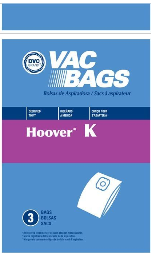Hoover Bags Style K (3 Pack)