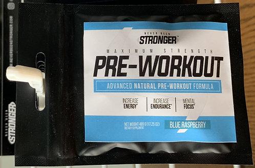 Single Serving Pre-Workout Packs