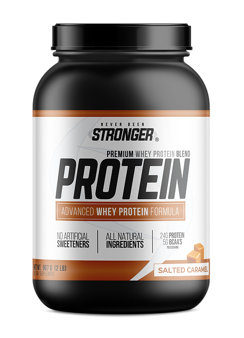 Salted Caramel All Natural Whey Protein Blend