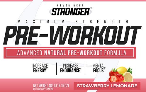 Advanced Natural Pre-Workout - Strawberry Lemonade