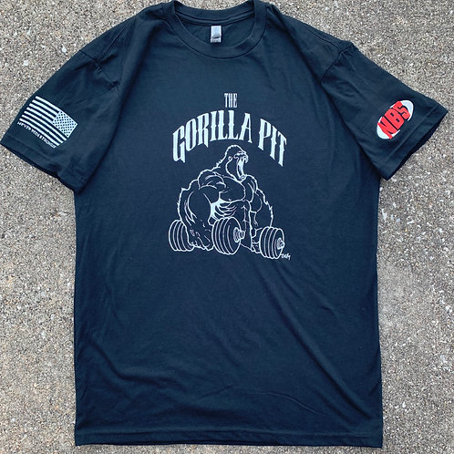 The Gorilla Pit / Never Been Stronger T-shirt