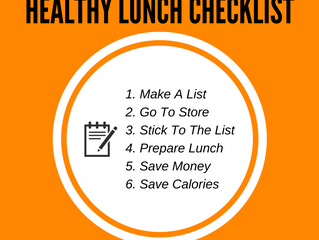 How To Create A Healthy Lunch