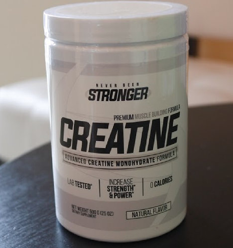 Never Been Stronger Creatine Monohydrate