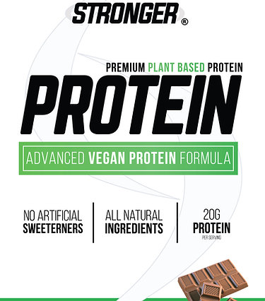 Chocolate Advanced Vegan Protein Formula