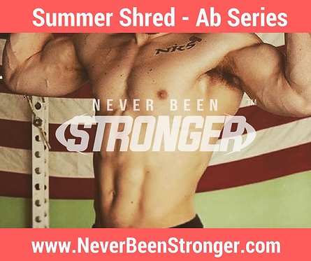 Summer Shred - Ab Series (Ebook)