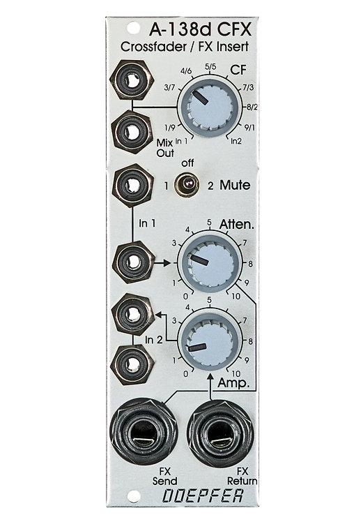 A 138d  Crossfader/Fx Insert