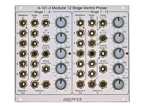 A 101 3 Vactrol Modular Phaser