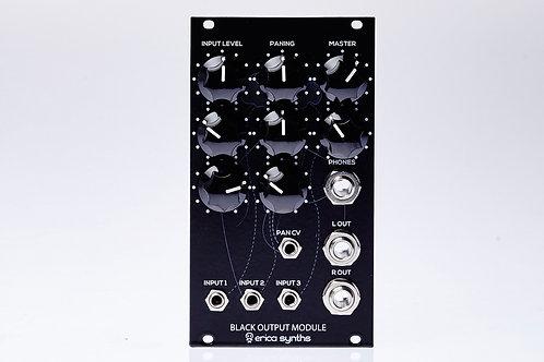 Black Output Module