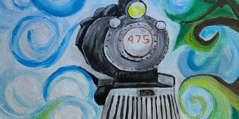 All Aboard Paint and Sip