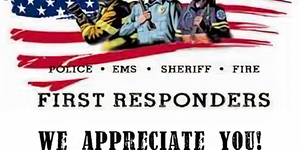 Honor First Responders Sunday